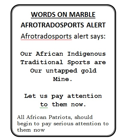 AFRICAN BILLIARDS word